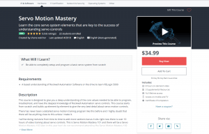 Servo Motion Mastery Course